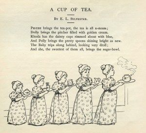 Cup of tea clip art and poetry on