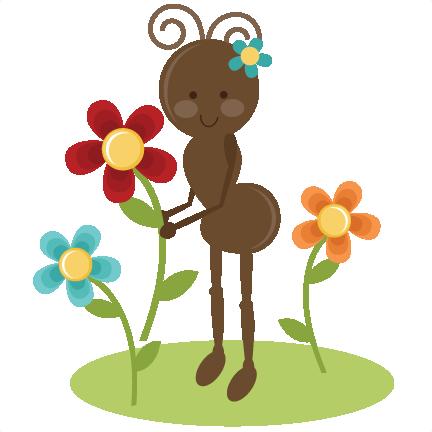 Cute ant clipart 5