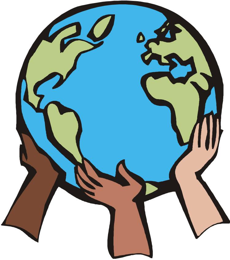 Earth globe clip art 2