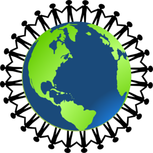Earth globe clipart 7 image