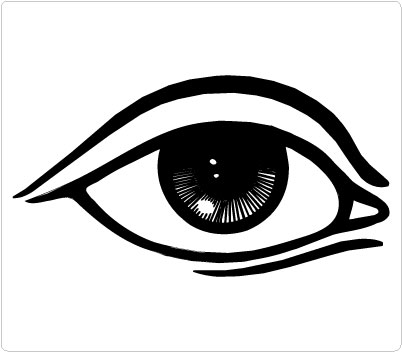 Eyes black eye clipart
