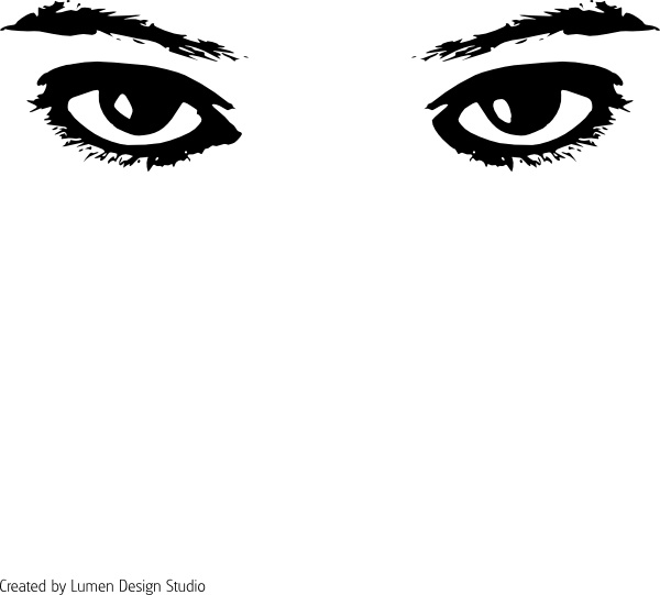 Eyes clip art free vector in open office drawing svg 3