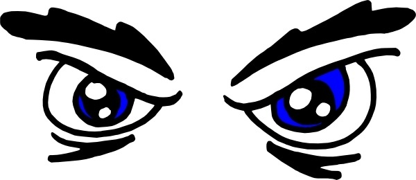 Eyes clip art free vector in open office drawing svg