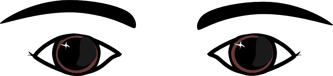 Eyes eye clip art black and white free clipart images 2