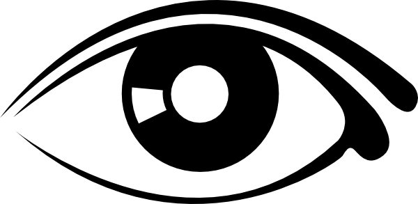 Eyes eye clip art black and white free clipart images 3