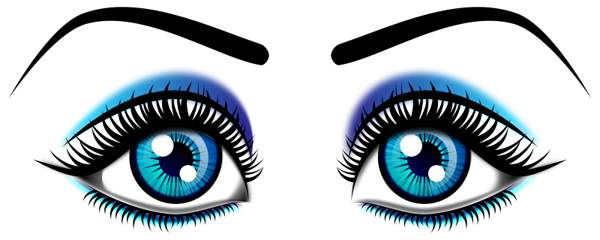 Eyes eye clip art black and white free clipart images