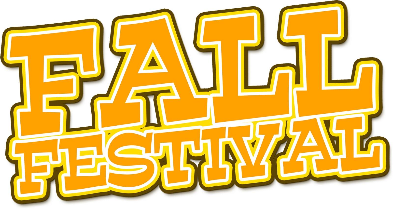 Fall festival community festival clipart