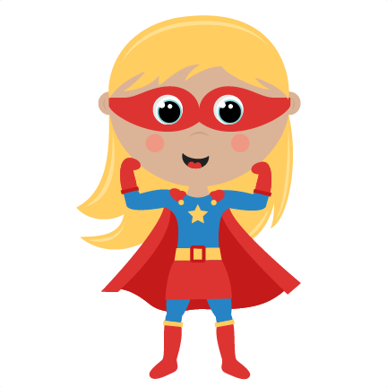 Female superhero clipart 2