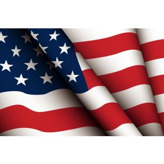Flags american flag waving and on clip art