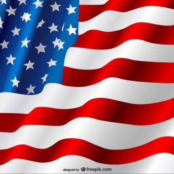 Free american flag clip art vector graphics freevectors
