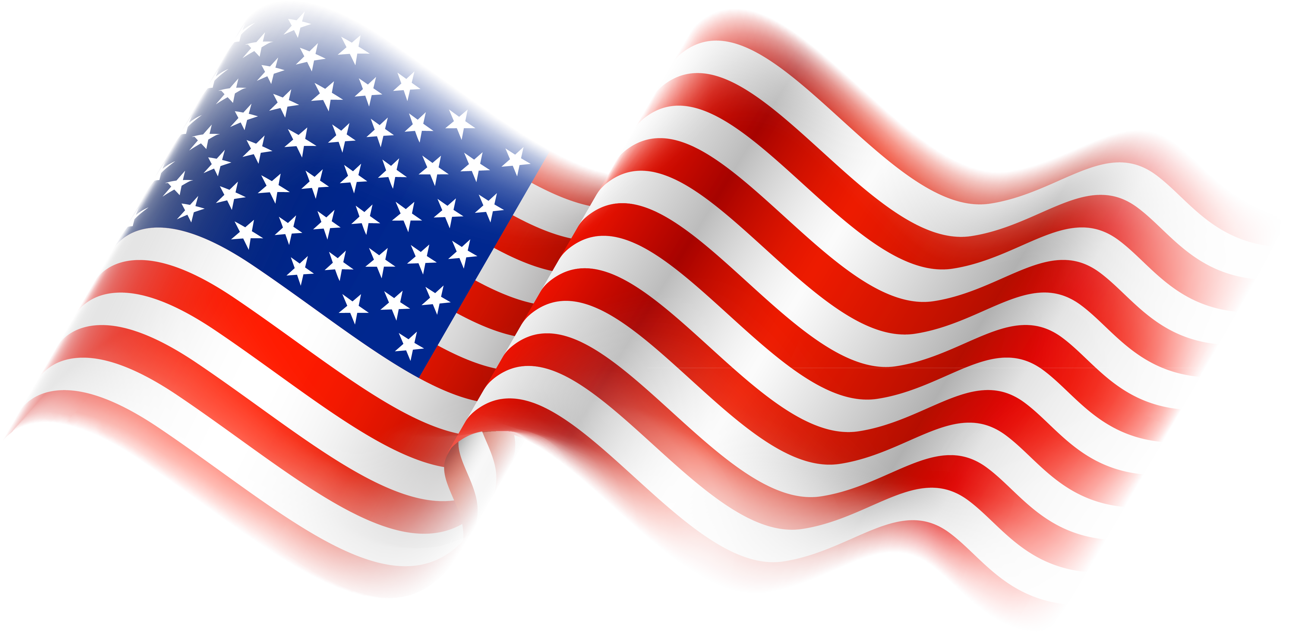 Free american flag clipart 2