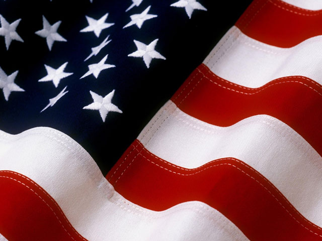 Free american flag clipart 3