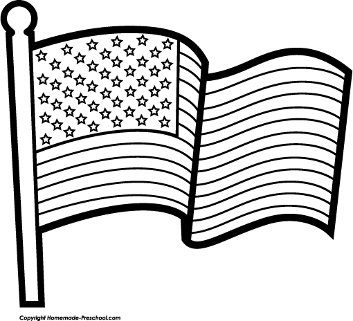Free american flags clipart 6