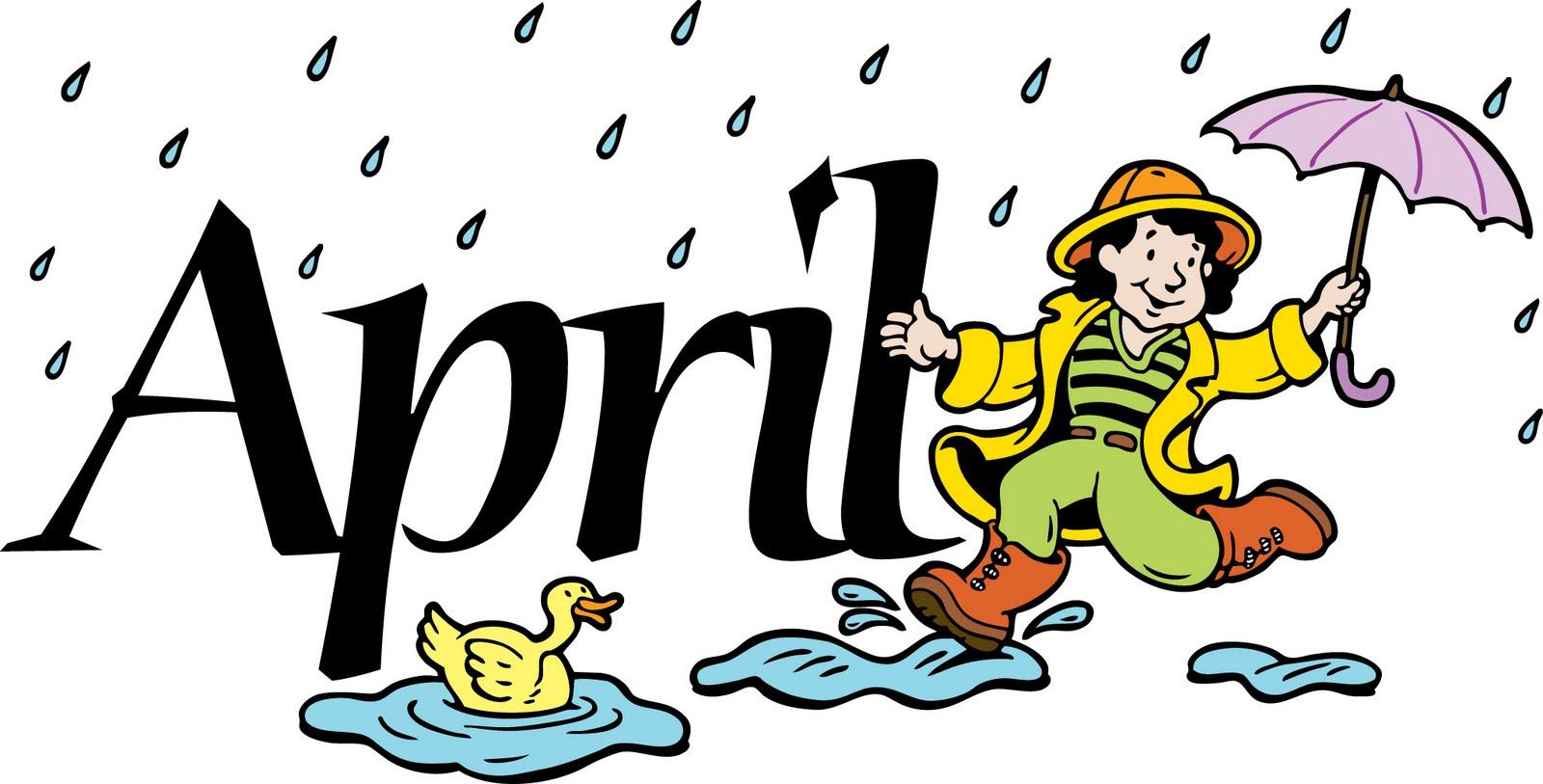 Free april clip art