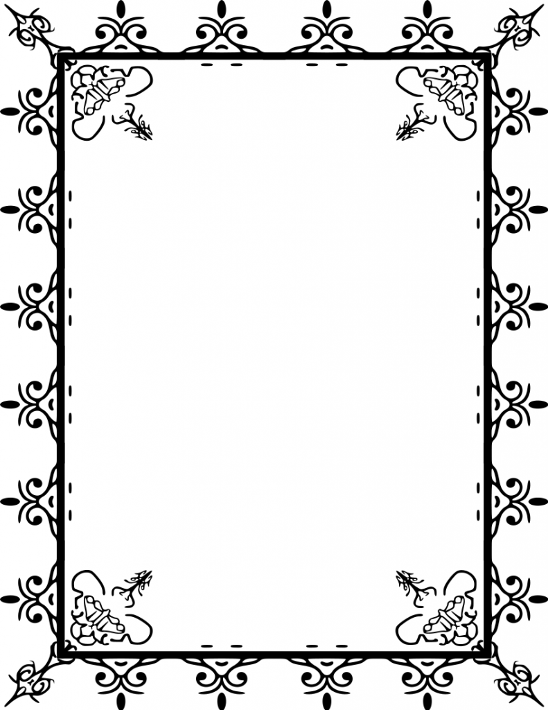 Free  borders clipart borders free images