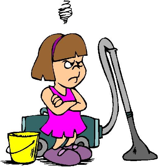 Free clip art children chores clipart images 4