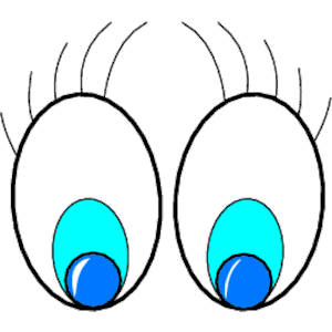 Free clipart images of eyes