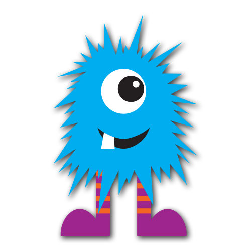 Free cute monster clip art silly image green 2