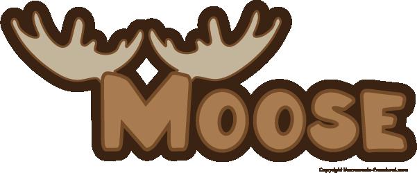 Free deer moose clip art