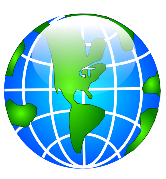 Free earth and globe clipart 4