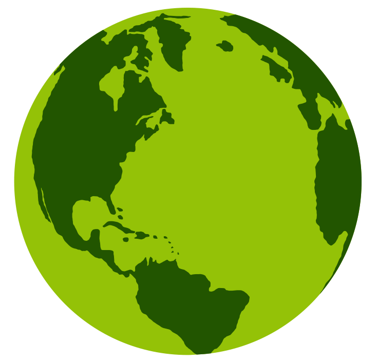 Free earth and globe clipart image