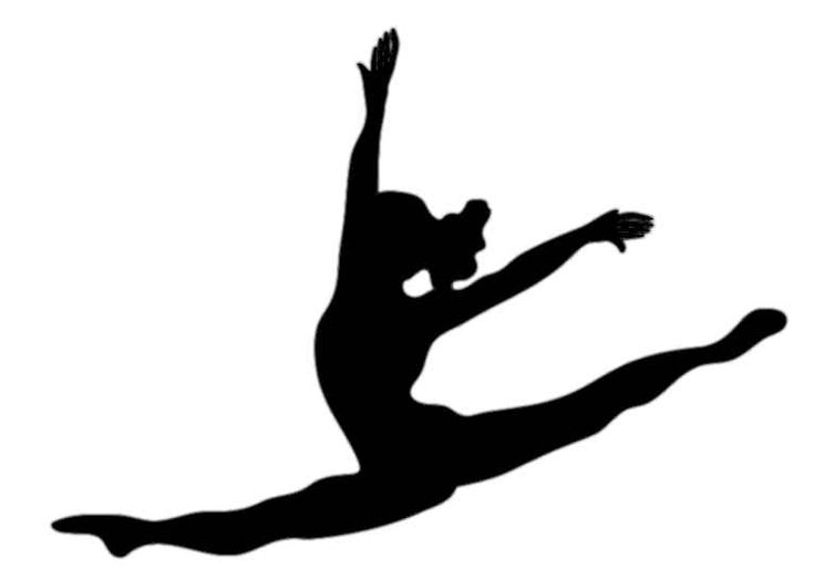 Free gymnastics clipart pictures