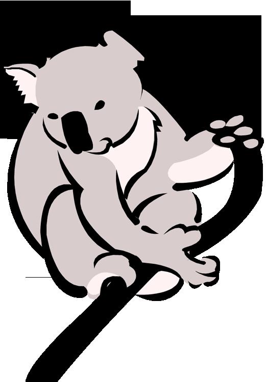 Free koala clipart 2