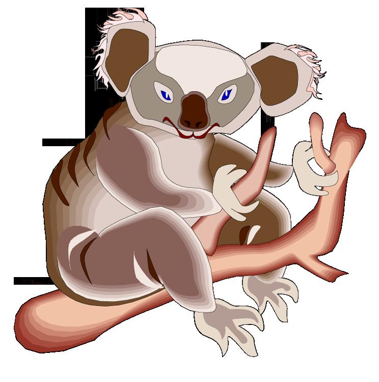 Free koala clipart 3