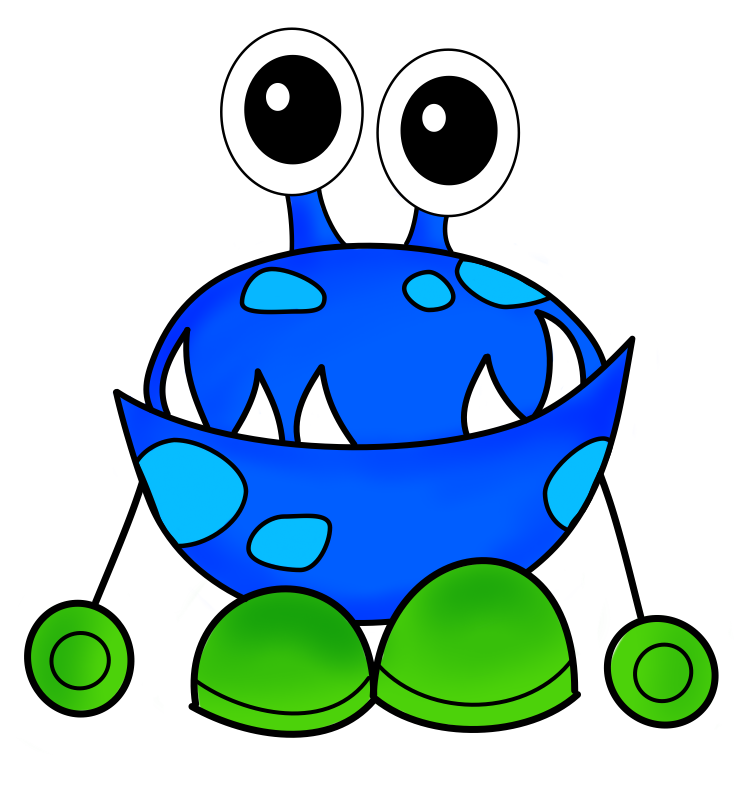 Free monster clip art pictures 2