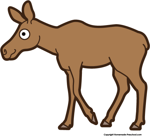Free moose clipart 3