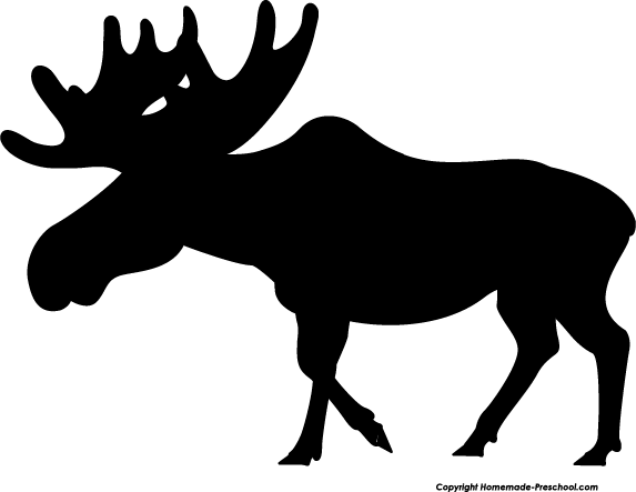 Free moose clipart pictures 3