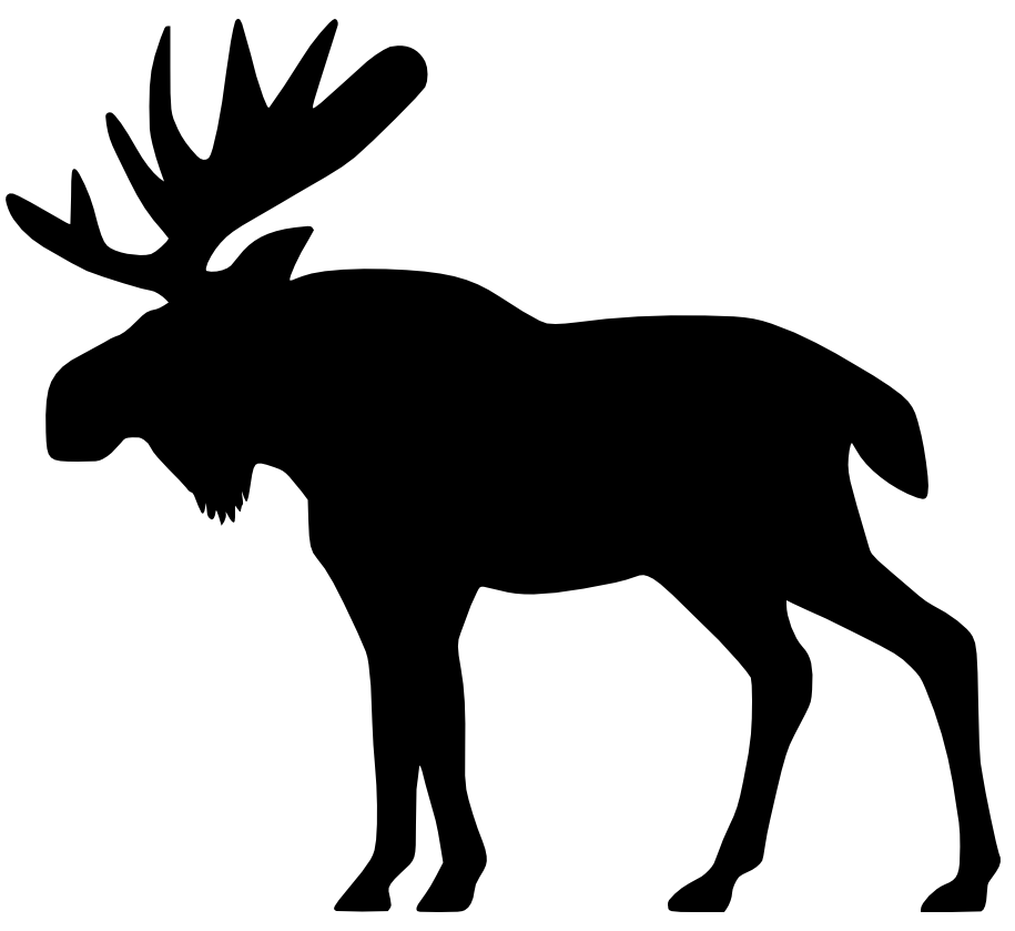 Free moose clipart pictures