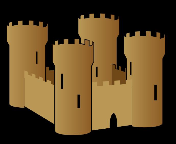 Free sand castle clip art