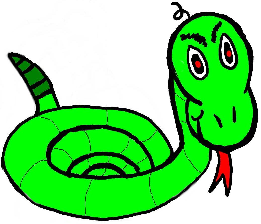 Free snake clipart 2 image 1