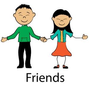Friends clip art free clipart images 7