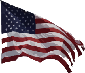Gallery for free clipart american flag