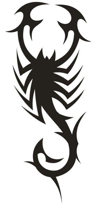 Gambar tribal scorpion clipart free to use clip art resource 2