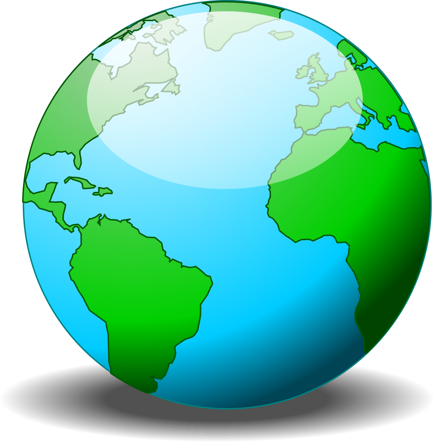 Globe clip art customizable free clipart images 4