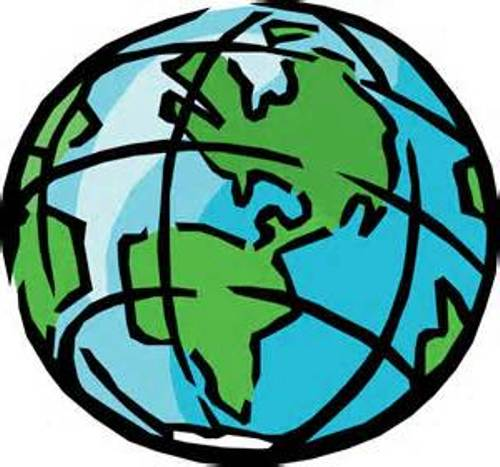 Globe clip art gold free clipart images