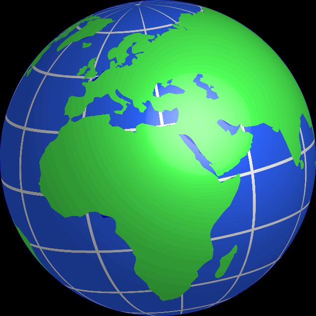 Globe clipart 2
