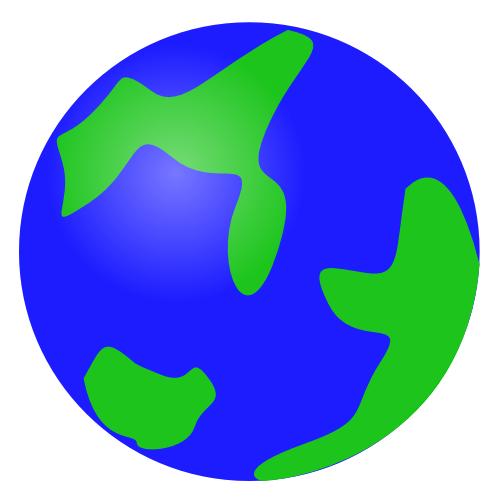 Globe clipart 3