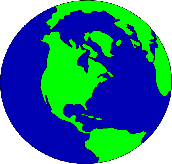 Globe clipart free images 4