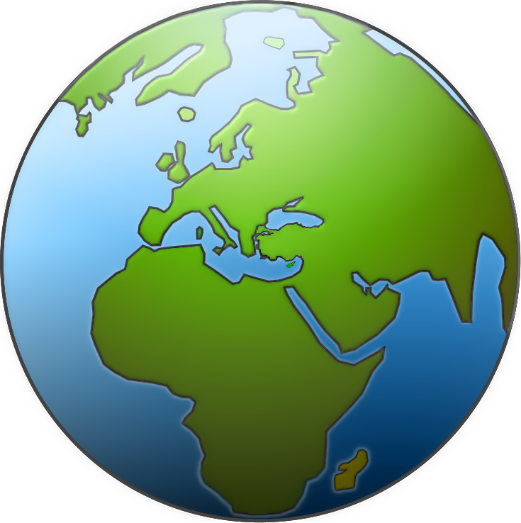 Globe clipart free images 5