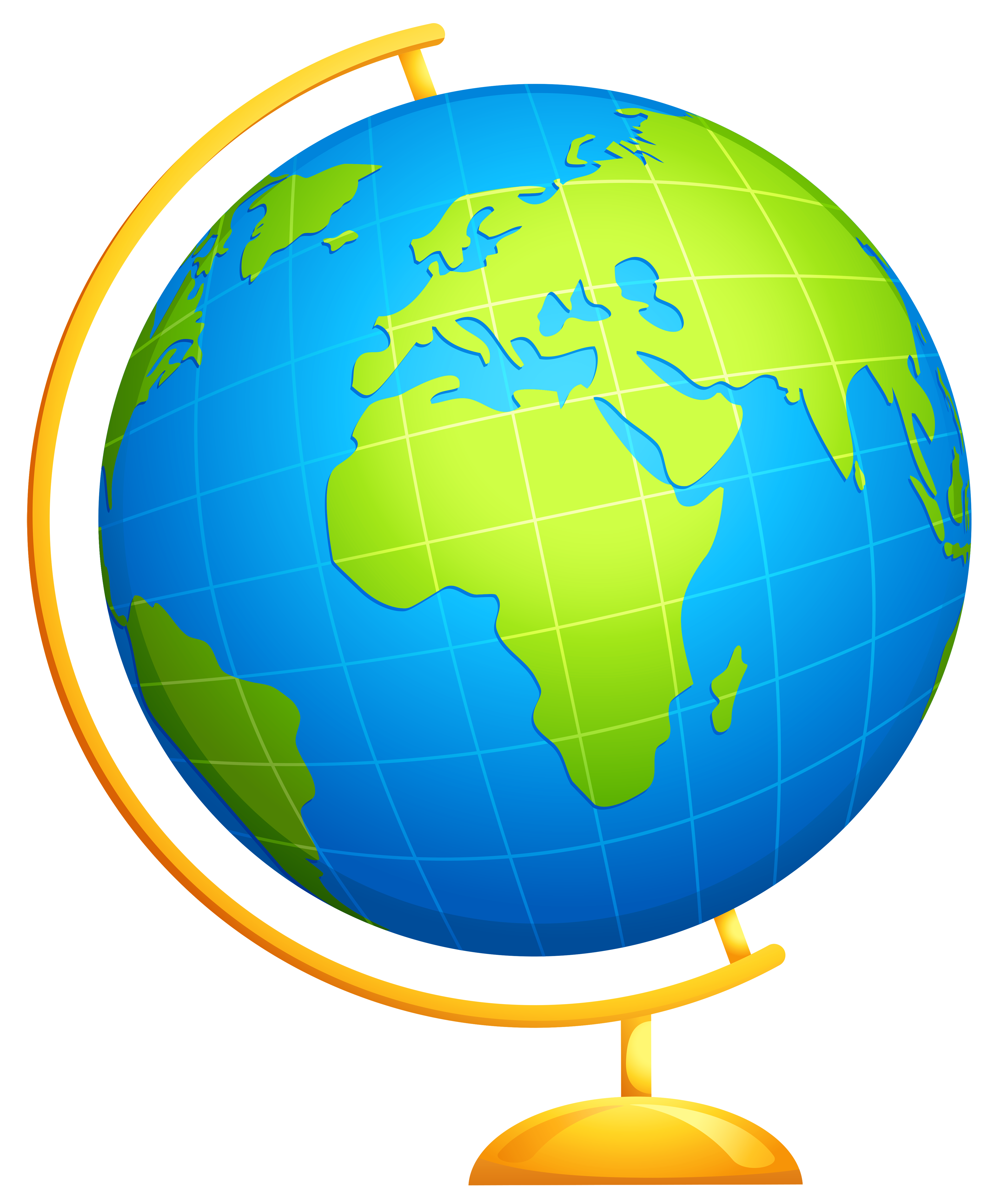 Globe clipart to download