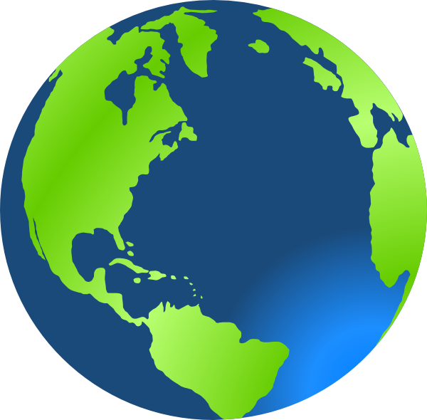 Globe earth clipart black and white free images 2
