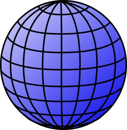 Globe earth on planet clip art and day 2