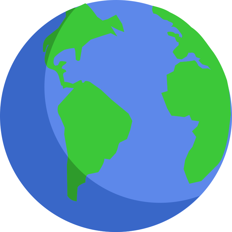 Map Of Globe, Globe Free To Use Clip Art 2, Map Of Globe