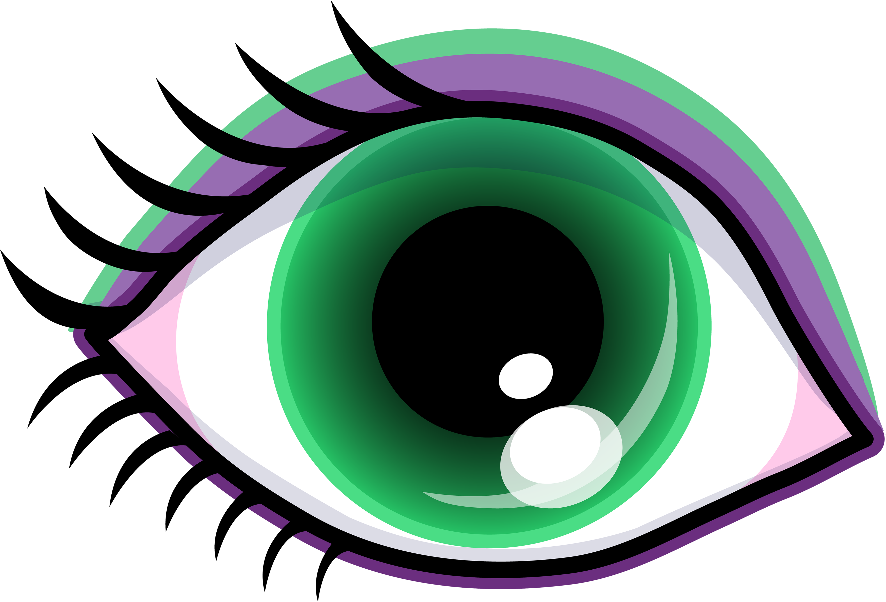 Green eyes clipart free images