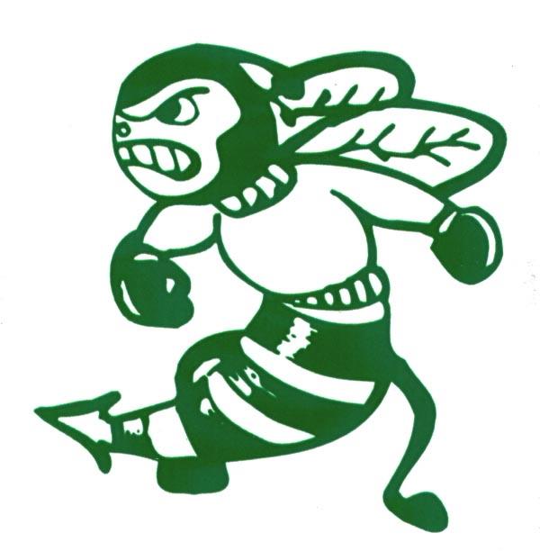 Green hornet clipart 3