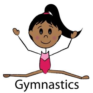 Gymnastics clipart tumbling free images 2